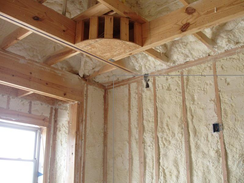 Polyurethane foam affordable home insulation lewisville tx for Eco friendly house insulation